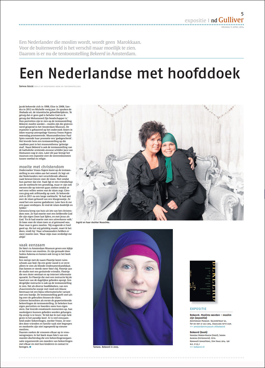 Nederlands Dagblad, 11 april 2014